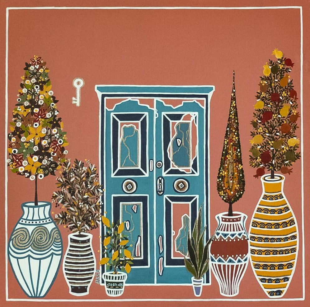 "Silvia Karamfilova Art ""Door to the Mediterranean"""