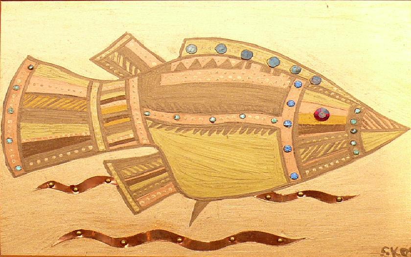 "Silvia Karamfilova Art ""Fish"""