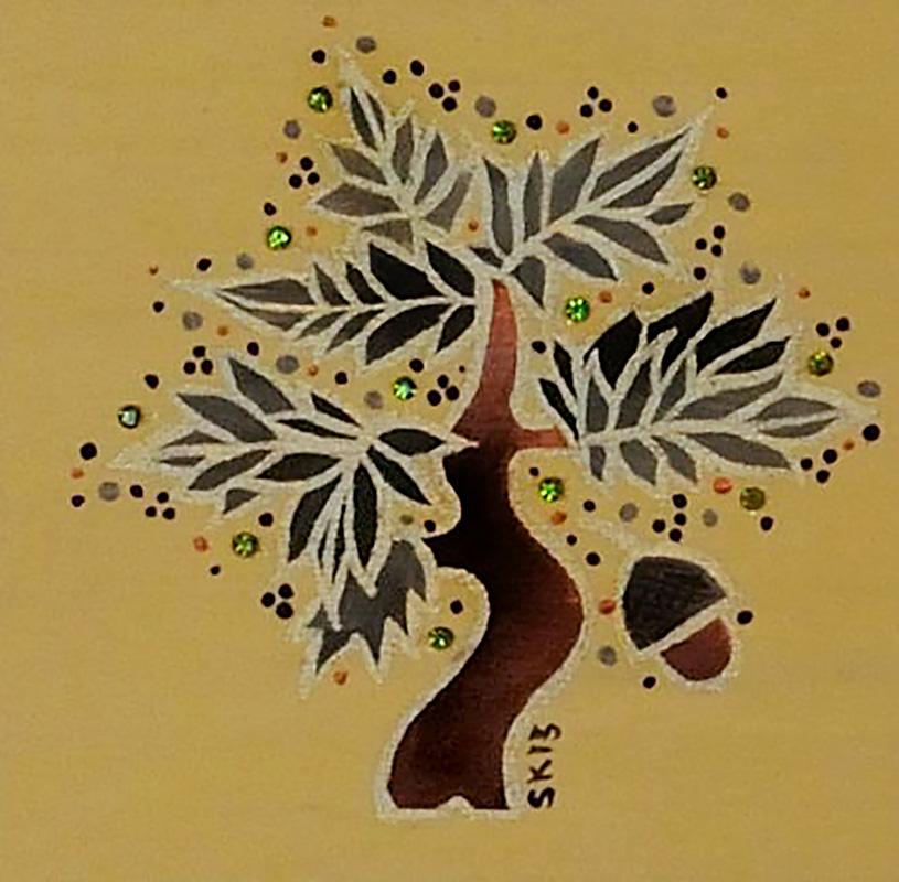 "Silvia Karamfilova Art ""Oak tree"""