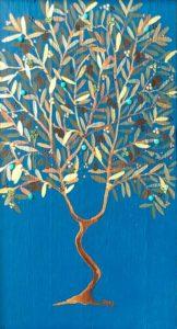 """Silvia Karamfilova painting """"Olive tree"""""""