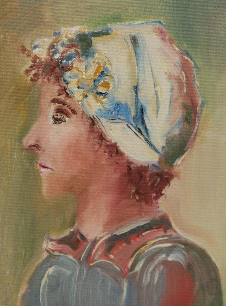 """Silvia Karamfilova Art """"Portret"""""""