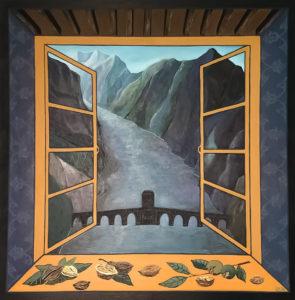 "Silvia Karamfilova Art ""The bridge over the Drina river"""