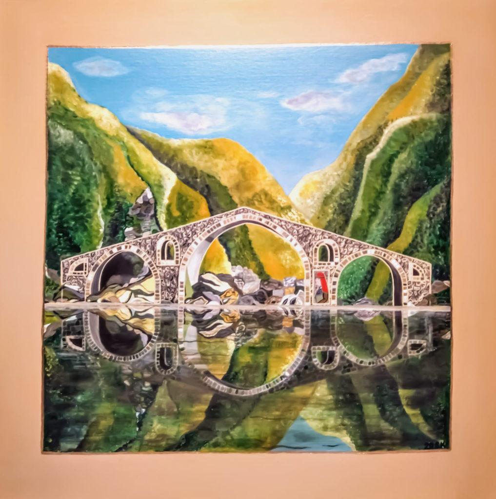 """Silvia Karamfilova Art """"The Devils Bridge"""""""