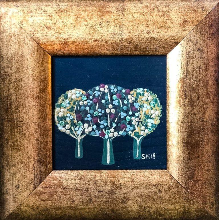 "Silvia Karamfilova Art ""Three"""