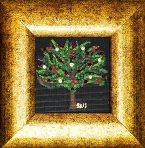 "Silvia Karamfilova painting ""Tree of life 10"""