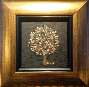"Silvia Karamfilova painting ""Tree of life 12"""