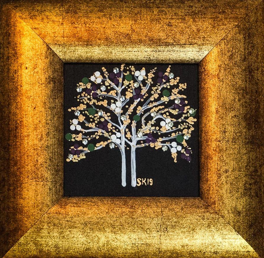 "Silvia Karamfilova painting ""Tree of life 13"""