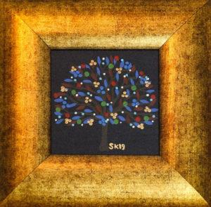 "Silvia Karamfilova painting ""Tree of life 15"""