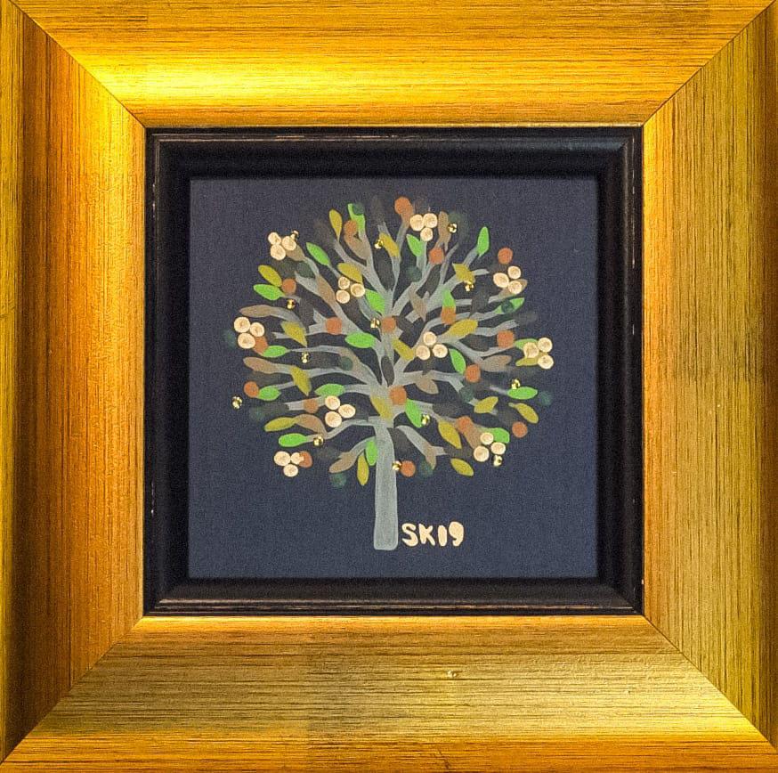 "Silvia Karamfilova painting ""Tree of life 16"""