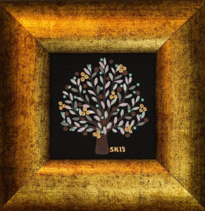 "Silvia Karamfilova Art ""Tree of life 3"""
