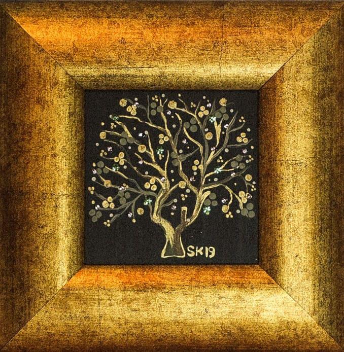 "Silvia Karamfilova Art ""Tree of life 4"""