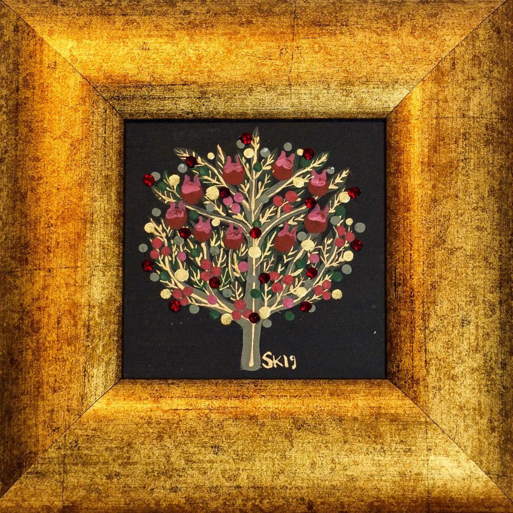 "Silvia Karamfilova painting ""Tree of life 8"""