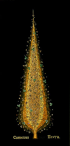 "Silvia Karamfilova Art ""Cypress tree 2"""