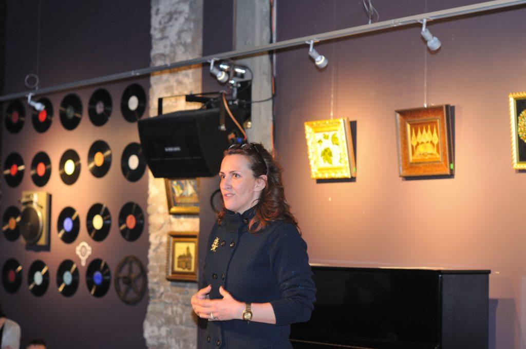 Silvia Karamfilova - Exhibition opening