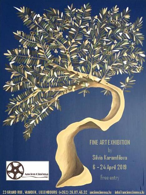 silvia karamfilova exhibition poster april 2019 vianden luxembourg