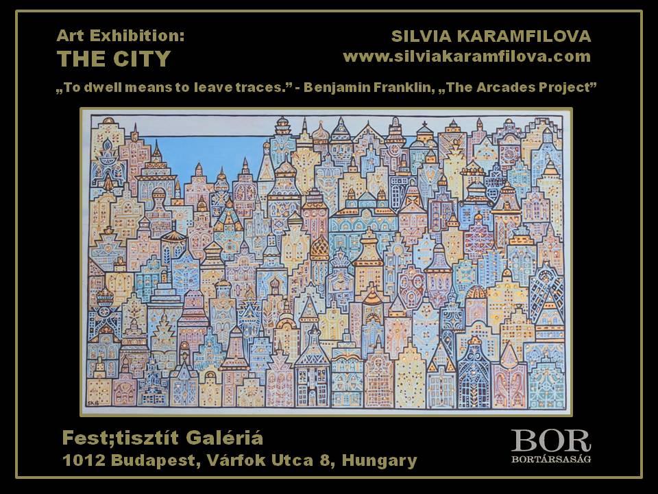 Silvia Karamfilova - Poster, Art Exhibition